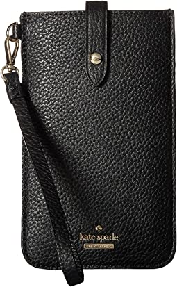 Kate Spade New York - Pebbled Phone Sleeve for iPhone® 6, 6 Plus, 7, 7 Plus, 8, 8 Plus