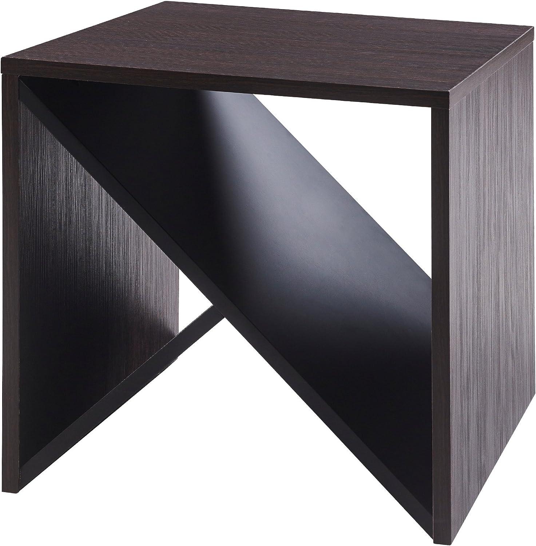 Versanora - Bloccare Side Table - Mocha Black