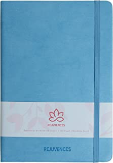 A5 نوتبوك - جيب دفتر اليوميات - غطاء صلب - جلد PU - مجلة صغيرة - 180 درجة - سهل الحمل - 160 صفحة - ملاحظات كتابة، إصدار جي...