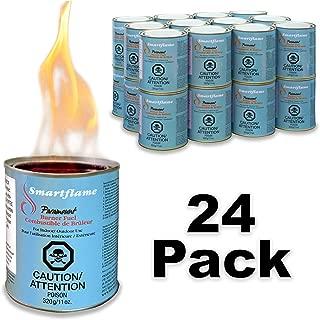 Paramount GF-CAN-07 Smartflame Case of 24 Burner Fuel, 13 oz