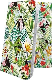 Xperia Z SO-02E ケース 手帳型 ヤシの木 花柄 花 フラワー エクスペリア 手帳型ケース 和柄 和風 日本 japan 和 SO02E XperiaZ ハワイアン ハワイ 夏 海