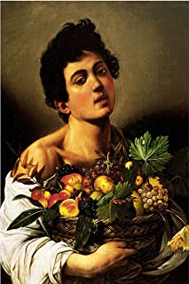 caravaggio basket of fruit print