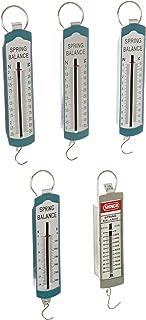 Ajax Scientific 5 Piece Spring Scale Set