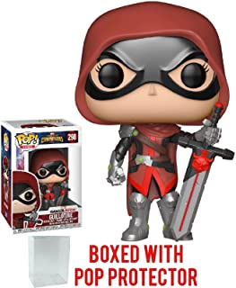 Funko Pop! Games: Marvel Contest of Champions - Guillotine Vinyl Figure (Bundled with Pop Box Protector Case)