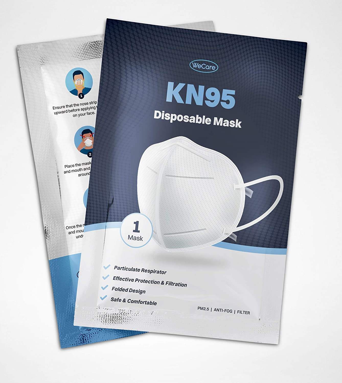 送料無料激安祭 WECARE Protective Light Breathable 在庫限り Plain Disposable 60 Pack -