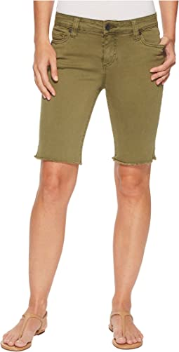 KUT from the Kloth Natalie Bermuda in Olive