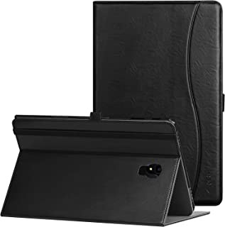 Ztotop Case for Samsung Galaxy Tab A 10.5 Inch 2018(SM-T590/T595/T597), Leather Folding Stand Cover with Auto Wake/Sleep, Pencil Holder and Multiple Viewing Angles,Black