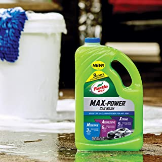 Turtle Wax Max-Power 3 Levels of Clning Power Car Wash, 100 oz 3 Litre