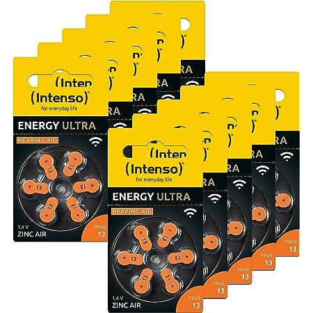 60x Intenso Energy Ultra Hörgeräte Batterie Pr48 Orange Elektronik
