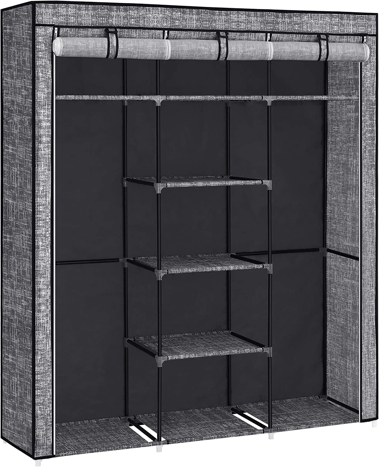 SONGMICS Portable Closet Fabric with Clothes low-pricing R 2 25% OFF Hanging