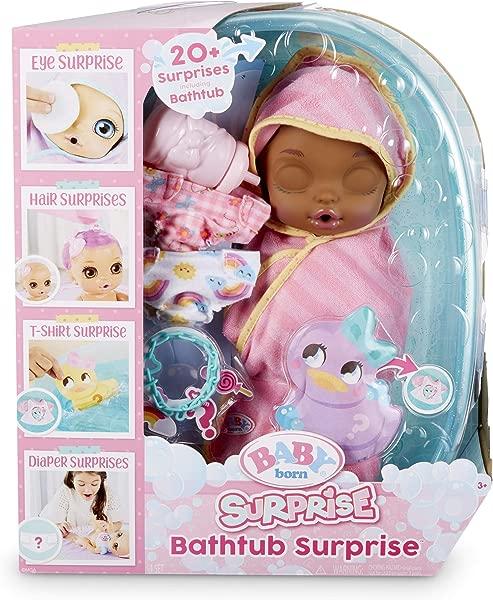 Baby Born Surprise Bathtub Surprise Pink Swaddle Princess