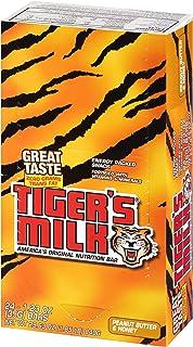 Tiger's Milk Peanut Butter & Honey Protein Nutrition Bar, 35 g (Pack of 96)