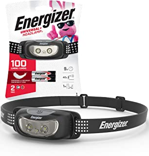 Energizer LED Headlamp, High Lumens, Durable, For Camping, Hiking, Outdoors, Emergency Light, Best Head Lamp For Adults an...