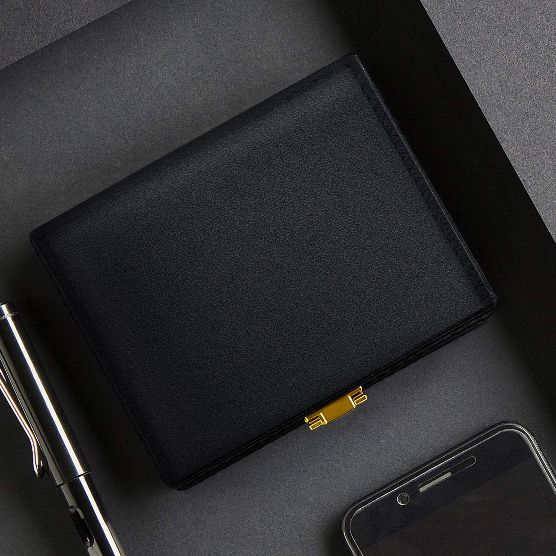 2 Bolsa Faraday para Llave Coche Samfolk Caja Faraday Negro Caja PU Bloqueo de Se/ñal Radio Protectora de Coche Protecci/ón de 5 a 8 Llaves