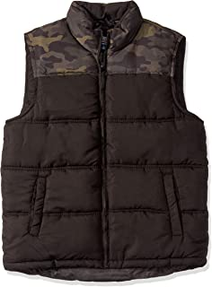 Men's Camo Double Insulated Puffer Vest