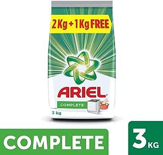 Ariel Complete Detergent Washing Powder - 2 kg with Free Detergent Powder - 1 kg