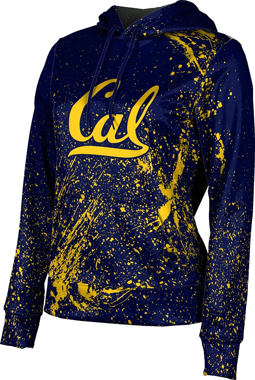 ProSphere University of California, Berkeley Girls' Pullover Hoodie, School Spirit Sweatshirt (Splatter)