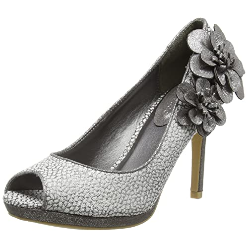 106a4c31 Silver Shoes and Matching Bag: Amazon.co.uk