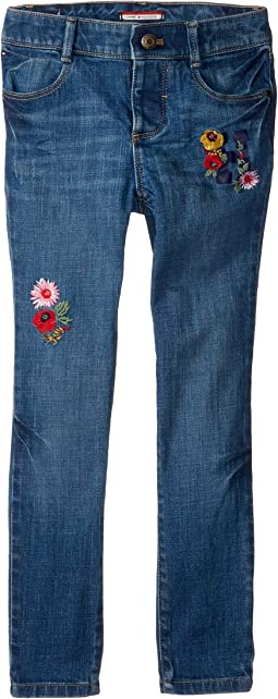 Skinny Jeans with Adjustable Waist and Velcro® Magnet Buttons (Toddler/Little Kids/Big Kids)