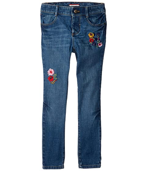 Skinny Jeans with Adjustable Waist and Velcro<sup>®</sup> Magnet Buttons (Toddler/Little Kids/Big Kids)