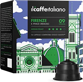 Il Caffè Italiano - Nescafè Dolce Gusto 96 Capsule compatibili - Il Caffè Italiano – Miscela Firenze Intensità 9 - Frhome