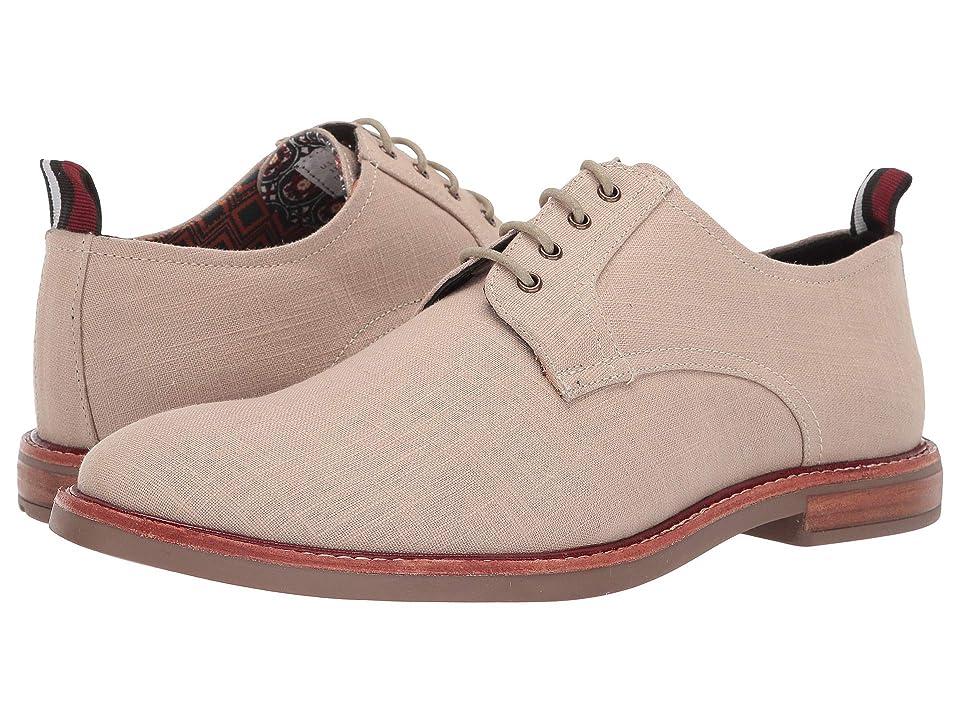 Ben Sherman Brent Plain Toe (Natural Linen) Men