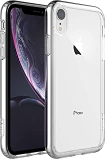 elcase Air Bolster iPhone XR Clear Case - Protective iPhone XR Case Shockproof Drop Protection, TPU Bumper, Scratch-Resistant Hard PC Back - iPhone XR Cover Case 6.1 inch Compatible (Crystal Clear)