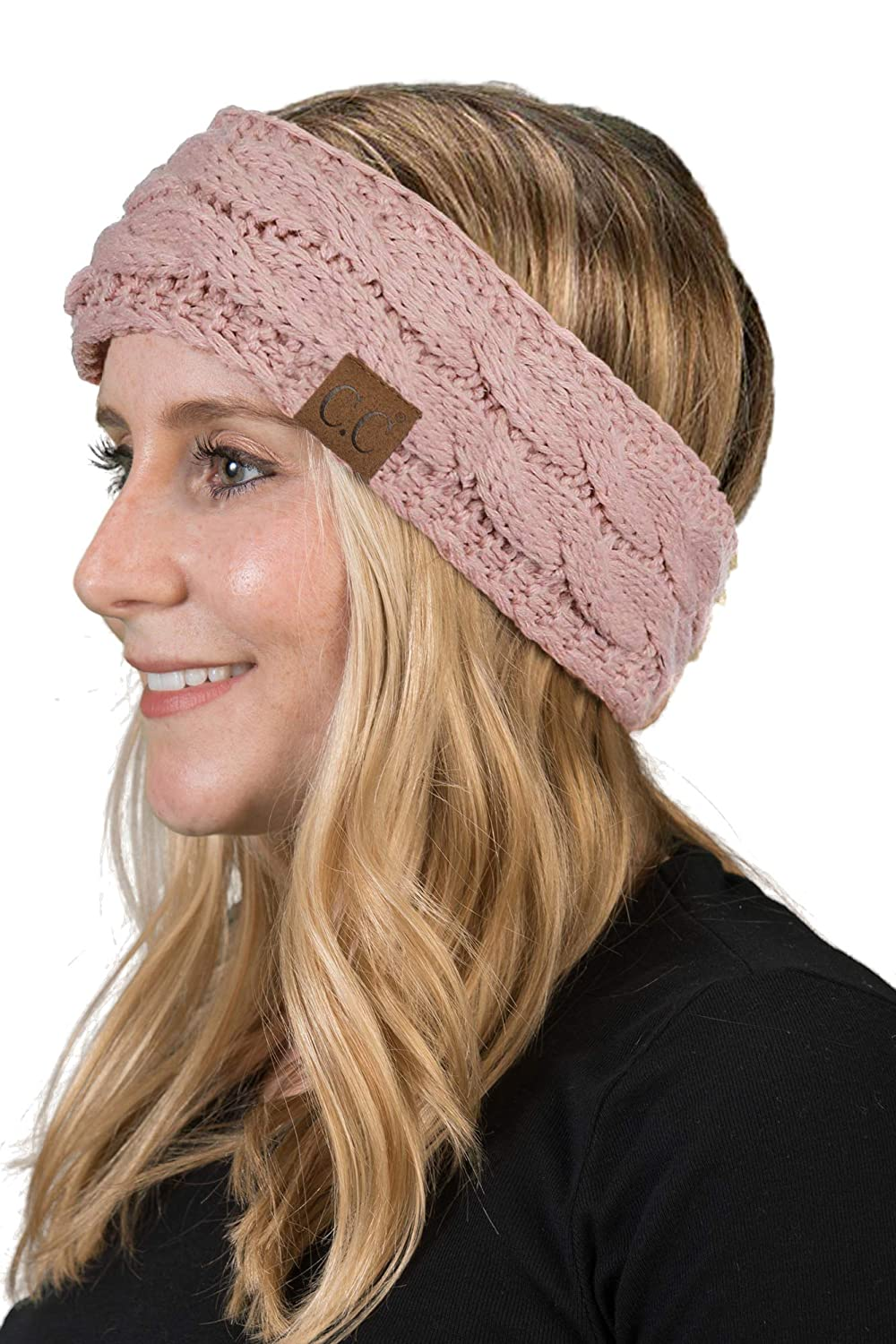Solid Headwrap - Indi Pink
