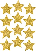 ASHLEY PRODUCTIONS Sparkle Stars Die-Cut Magnets, Gold, 3""