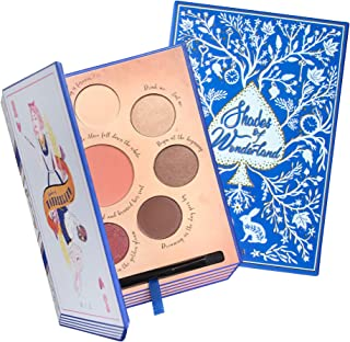 Shades of Wonderland Blush and Eyeshadow Palette - Vegan and Cruelty Free - 6 Part Limited Edition - For All Skin Tones and Types - Highly Pigmented Shimmer Matte - Moisturizing Jojoba Oil & Vitamin E