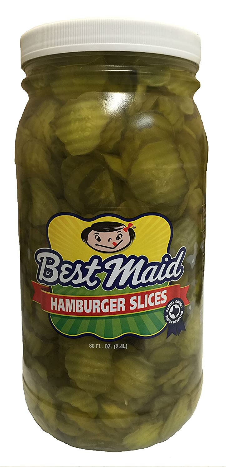 Best Maid Hamburger 80oz Pickles Slices Outstanding Lowest price challenge