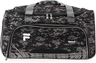 Source Sm Travel Gym Sport Duffel Bag, Black Digi Camo