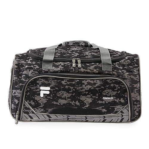 6dfeb1caf Fila Source Sm Travel Gym Sport Duffel Bag, Black Digi Camo