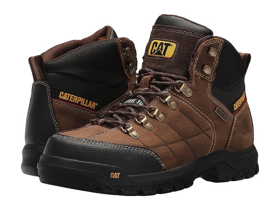 Caterpillar Threshold Waterproof Steel Toe (Brown) Men