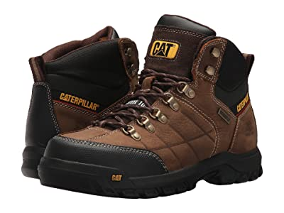 Caterpillar Threshold Waterproof Steel Toe (Brown) Men