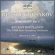 Rimsky-Korsakov: Symphony No. 1, Op. 1 - EP
