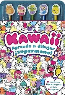 Kawaii. Aprende A Dibujar (Colorea y aprende a dibujar)