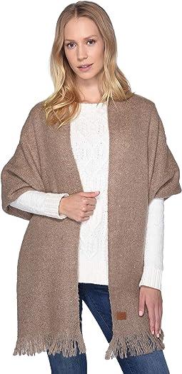 Boucle Knit Wrap