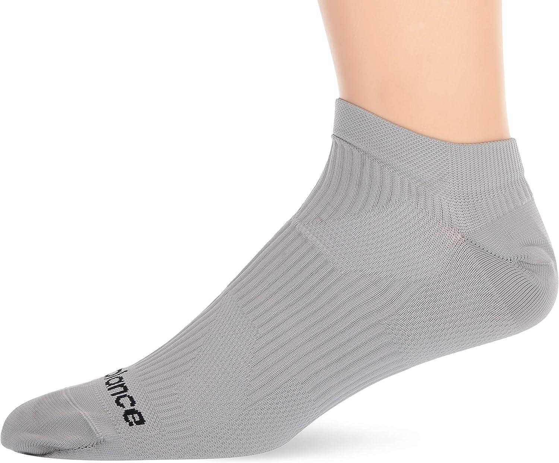New Balance Unisex-Adult Speed Runner Flat Knit Nylon No Show Socks