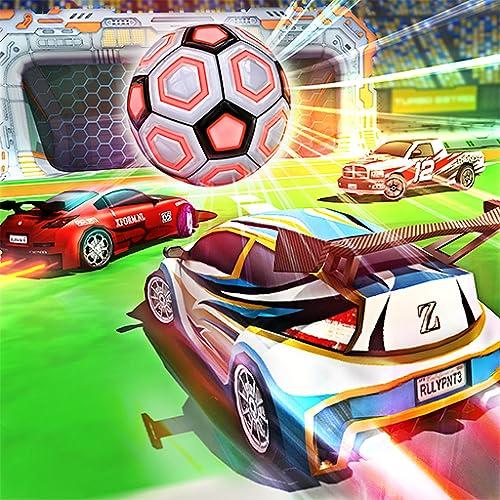 Rocket Car Soccer League: Car Wars 2018
