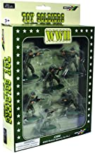 W Britain Super Deetail Toy Soldiers 52008 WWII British Infantry 6 Piece Set No.1 in GIFT BOX Collectible Toy Soldier 1/32 Scale Painted Figures