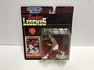 Sugar Ray Leonard Boxing Timeless Legend Collectible Toy Action Figure with Trading Card