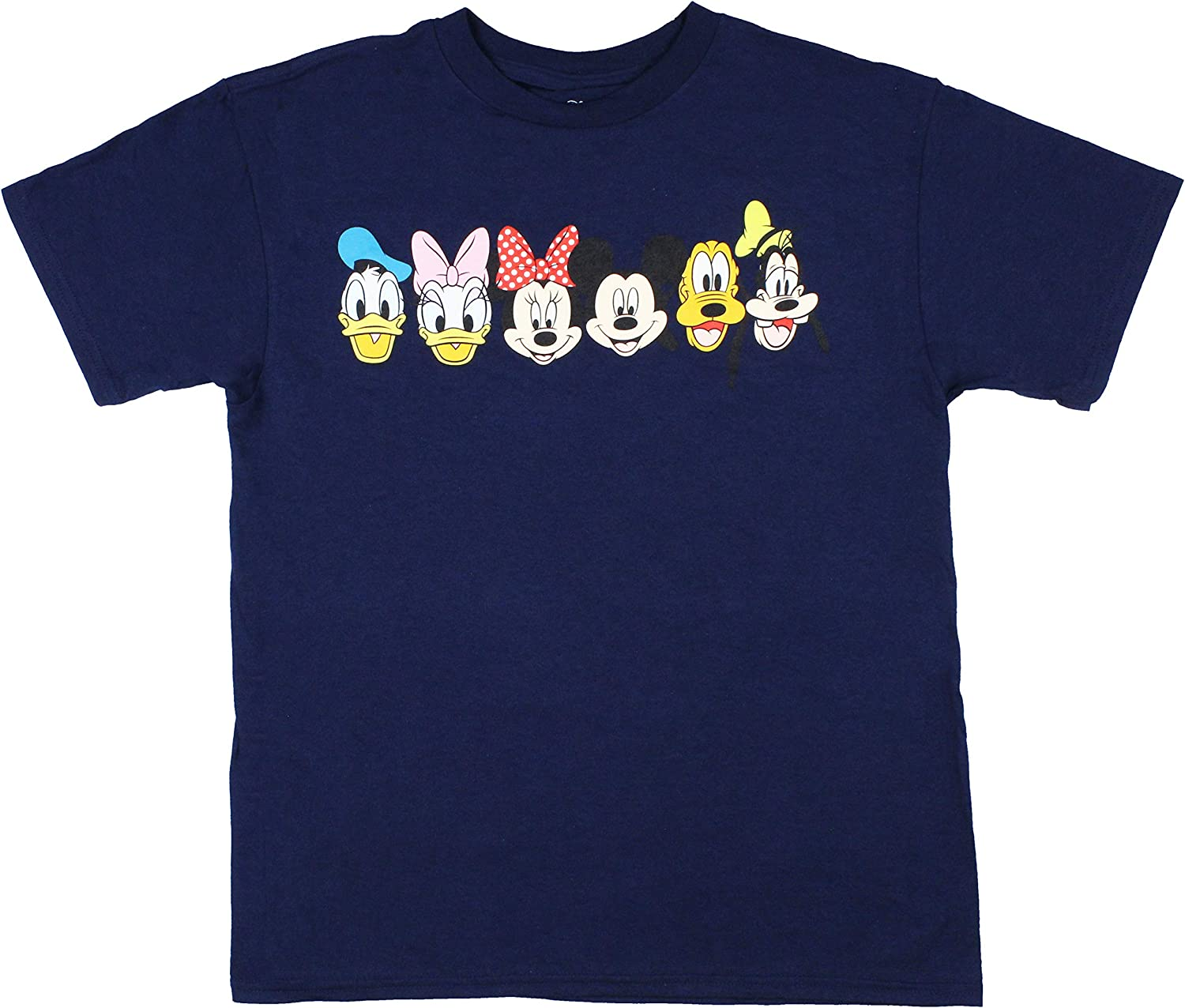 Disney Mickey Mouse and Friends Line Up Boy's T-Shirt