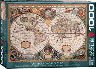 EuroGraphics Antique World Map Puzzle (1000-Piece)