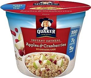 Quaker Instant Oatmeal Apples & Cranberries 1.79 OZ (Pack of 12)
