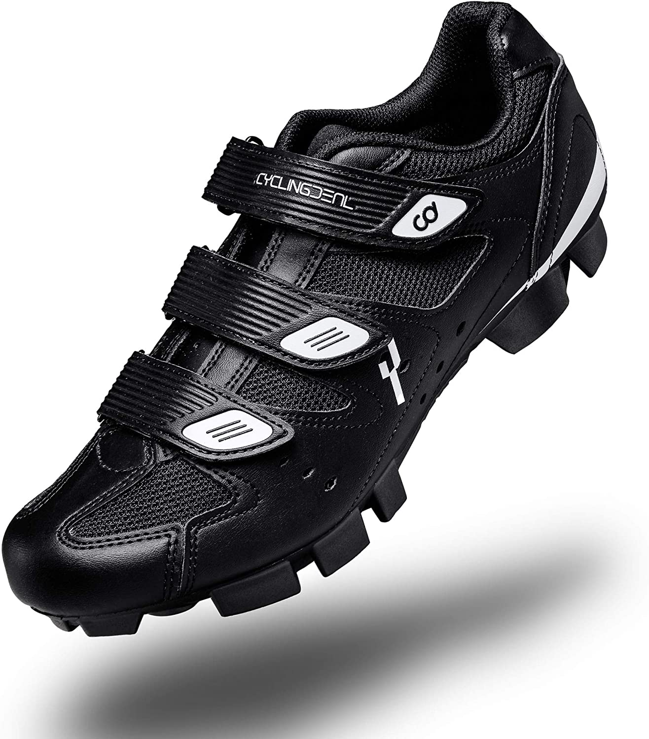 CyclingDeal Mountain Bicycle Bike Men's store MTB Cycling Black Shoes Japan's largest assortment