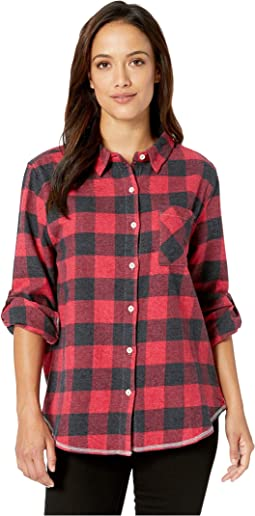 Vintage Buffalo Checks One-Pocket Shirt