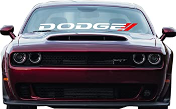 DODGE Charger Decal Ready To Install Windshield Vinyl Sticker RAM 1500 Window Lettering