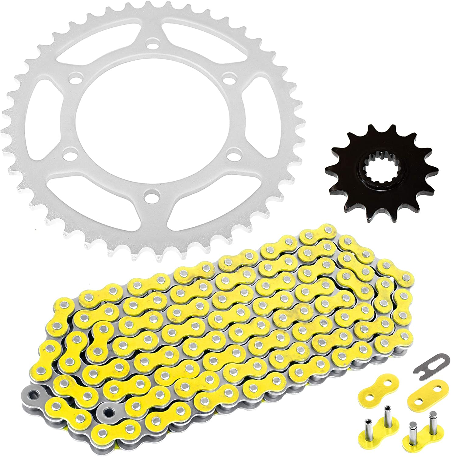 Caltric Drive Chain service and Sprockets Kawasaki Max 57% OFF E Compatible with Kit