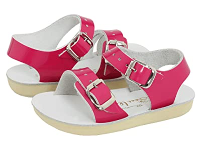 Salt Water Sandal by Hoy Shoes Sun-San Sea Wees (Infant/Toddler) (Shiny Fuchsia) Girls Shoes